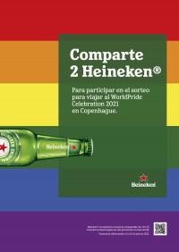 Comparte 2 Heineken