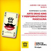 Rompiendo clichés: arte drag king y performatividad masculina