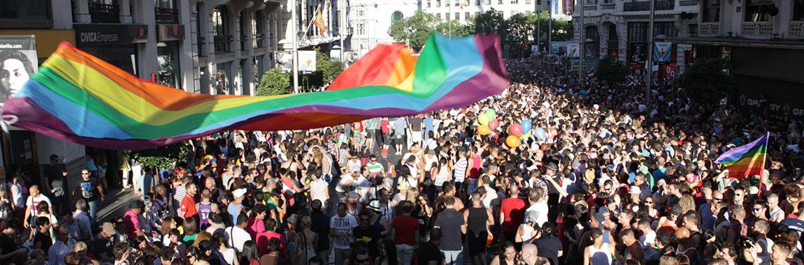 organizacion 40 años de Orgullo en Madrid - MADO'19 Web Oficial del Orgullo